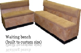 Waiting bench